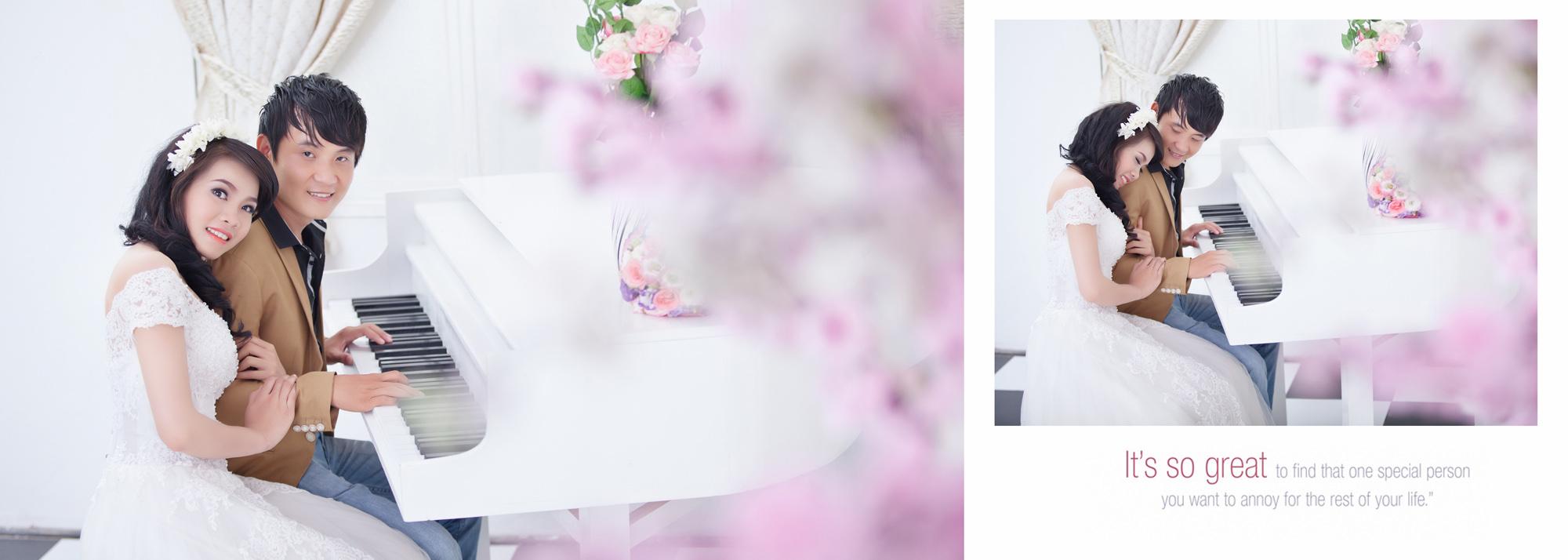 Album chụp hình cưới điễm & như 15