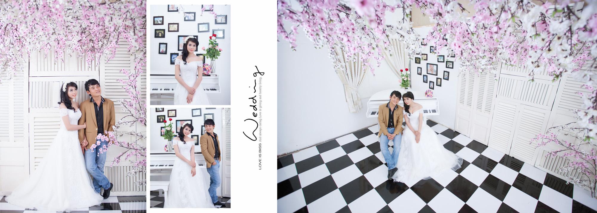 Album chụp hình cưới điễm & như 17