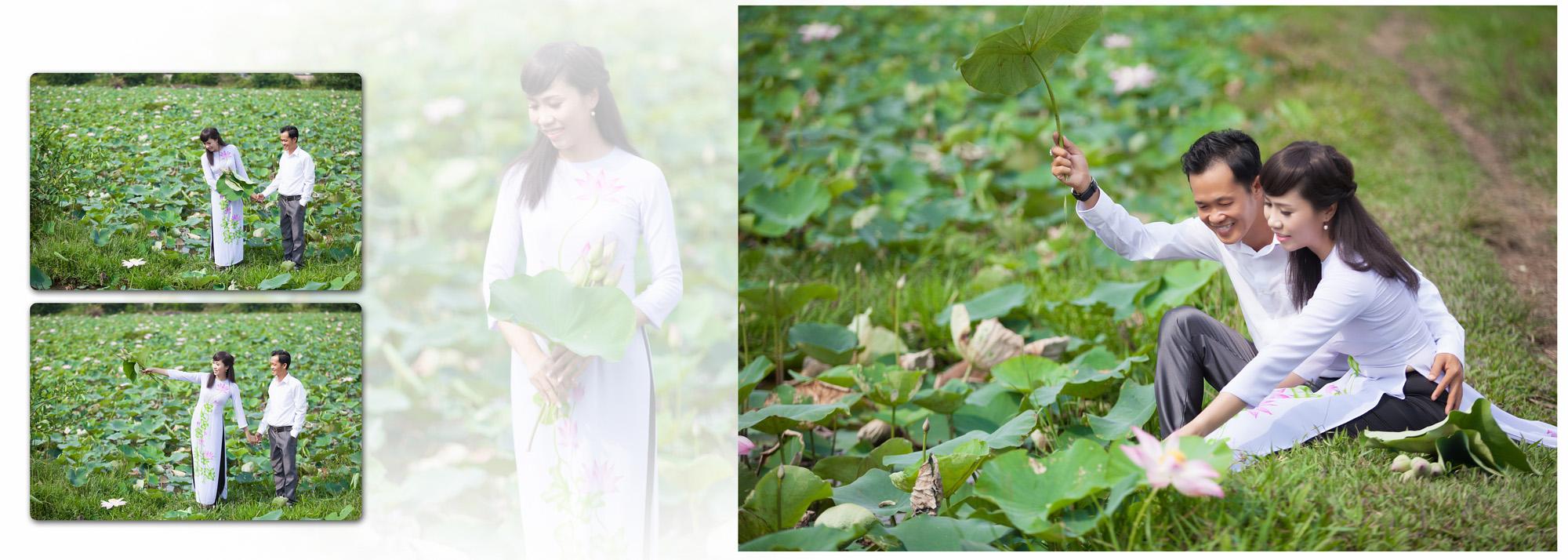 Album chụp hình cưới Hoàng và My 3