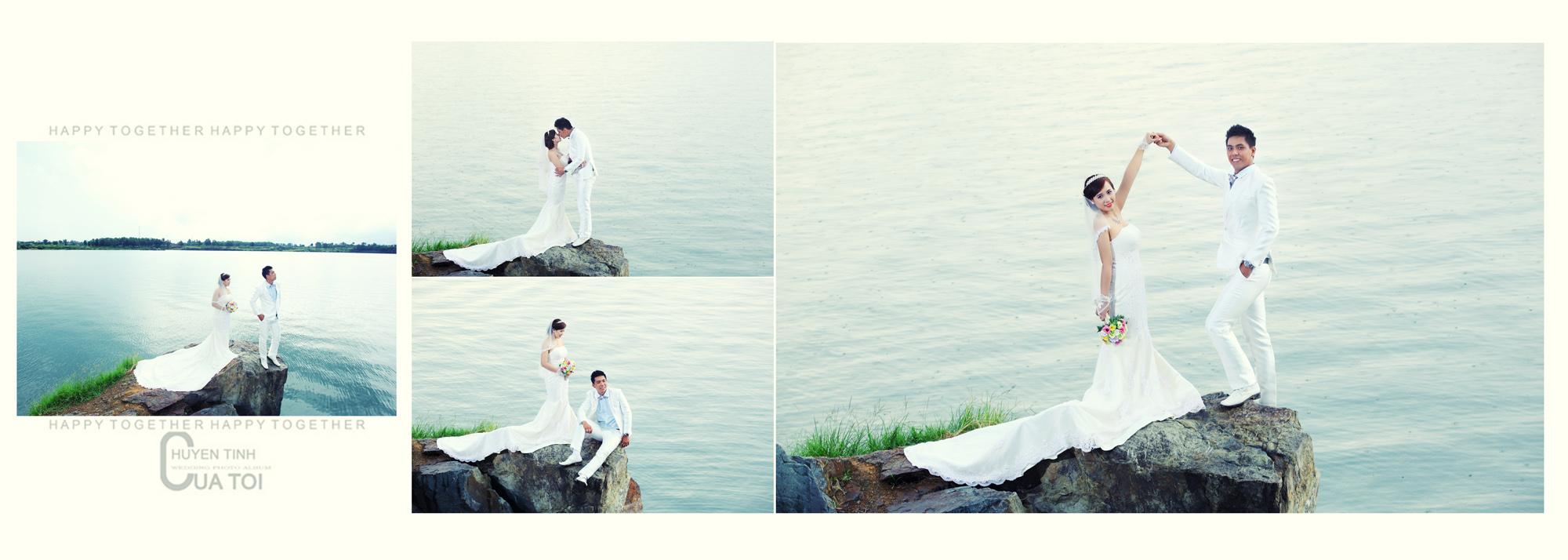 Album chụp hình cưới Quang và Thủy 10