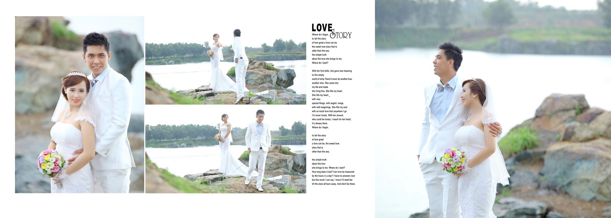 Album chụp hình cưới Quang và Thủy 11