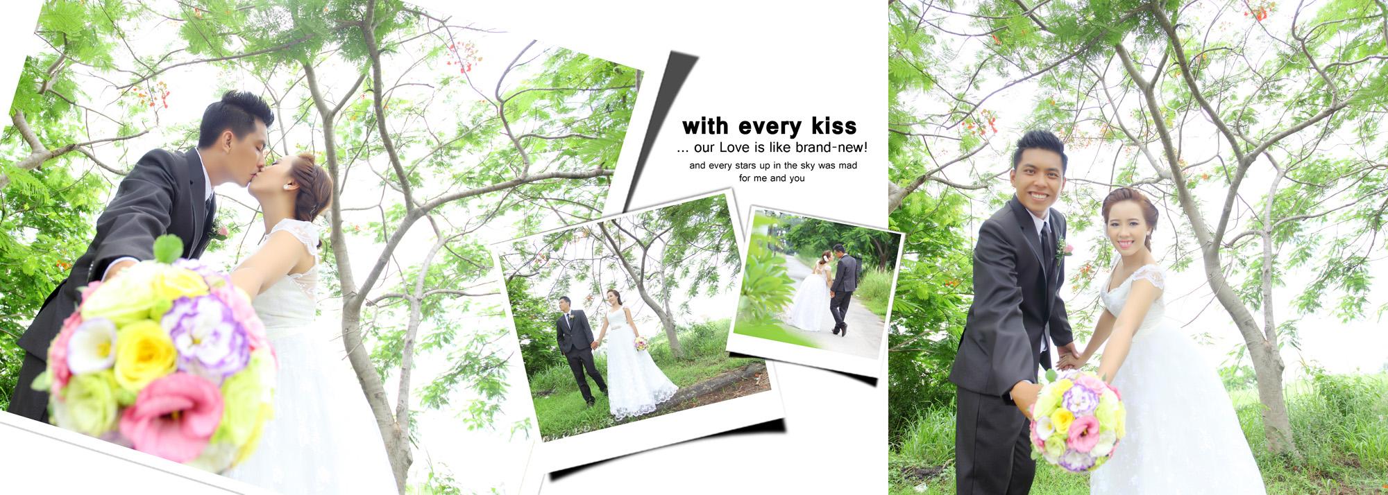 Album chụp hình cưới Quang và Thủy 5