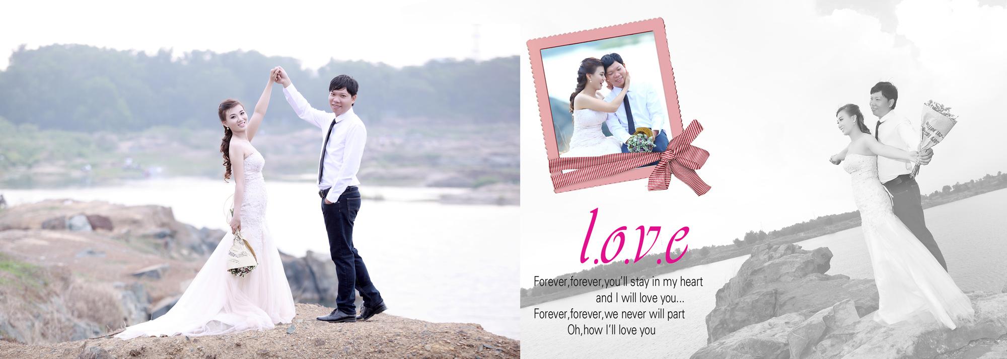 Album chụp hình cưới Trung và Diễm 11