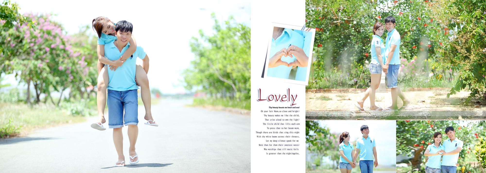 Album chụp hình cưới Trung và Diễm 4