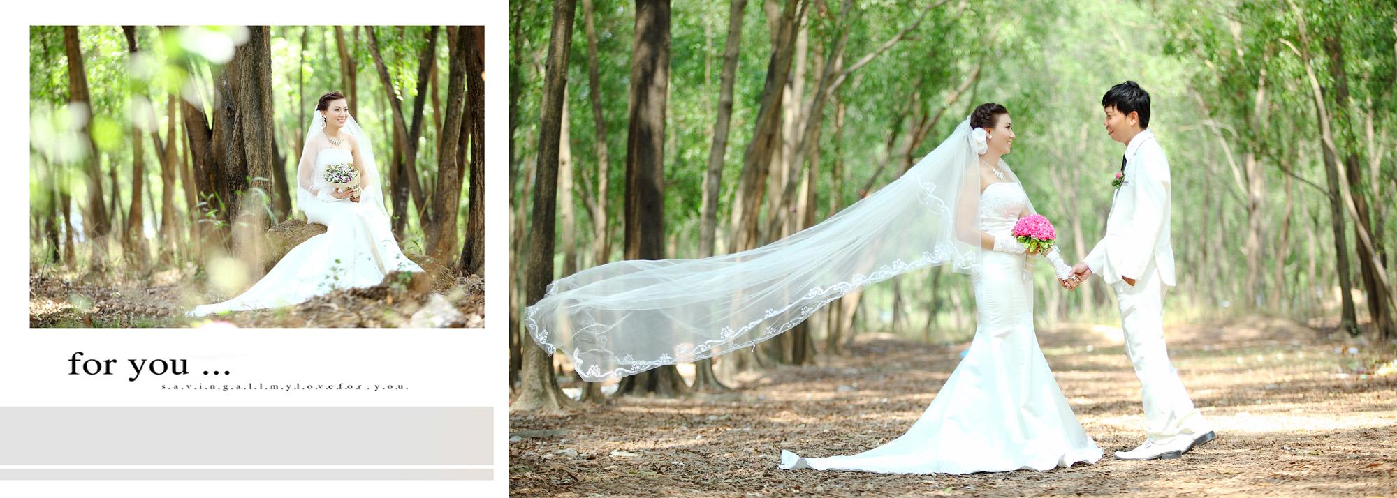 Album chụp hình cưới Trung và Diễm 6