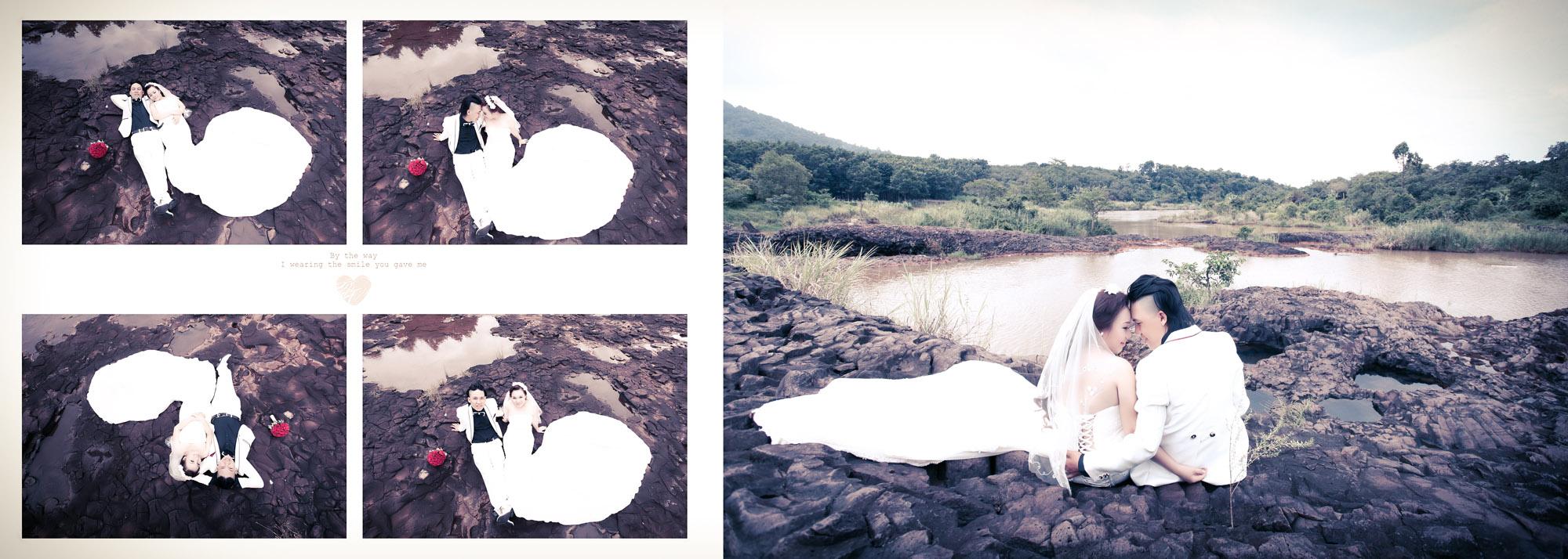 Chụp hình cưới ngoại cảnh phước long, bình phước - Sang & An 3