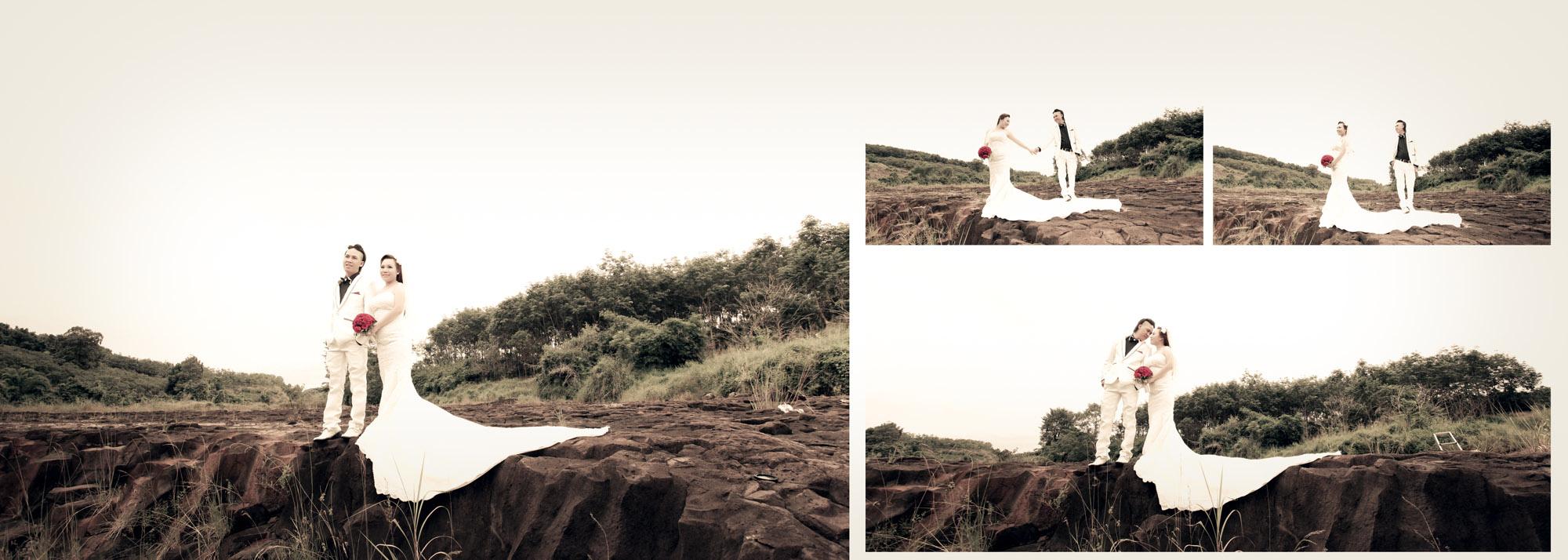 Chụp hình cưới ngoại cảnh phước long, bình phước - Sang & An 4
